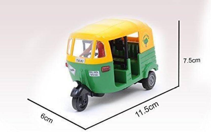 CENTY CNG Auto Rickshaw Green  CENTY Push   Pull Along