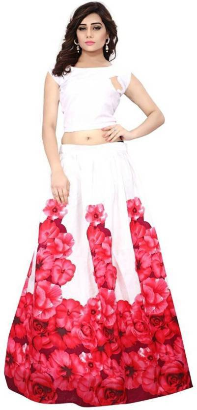 126392330426d4 Crezz N World Floral Print Lehenga Choli - Buy Crezz N World Floral ...