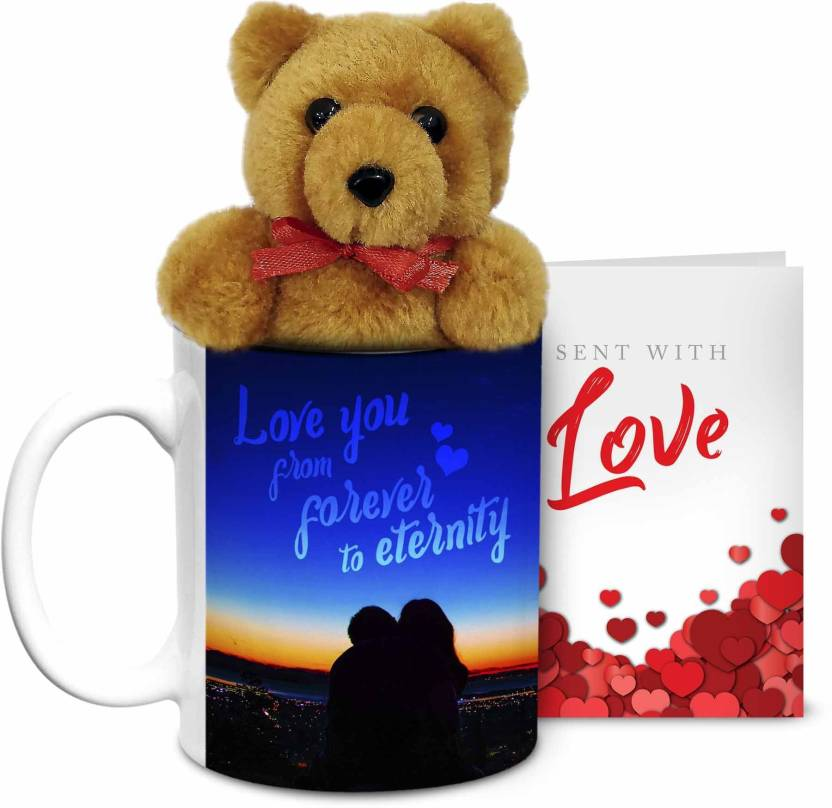 Hot Muggs Love You from Forever to Eternity Ceramic Mug