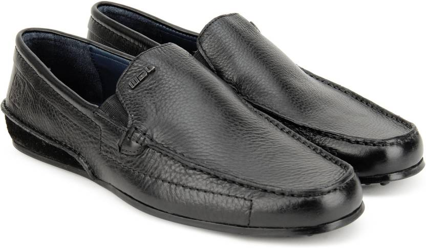 be2ae73732 Woodland Loafers For Men - Buy BLACK Color Woodland Loafers For Men ...
