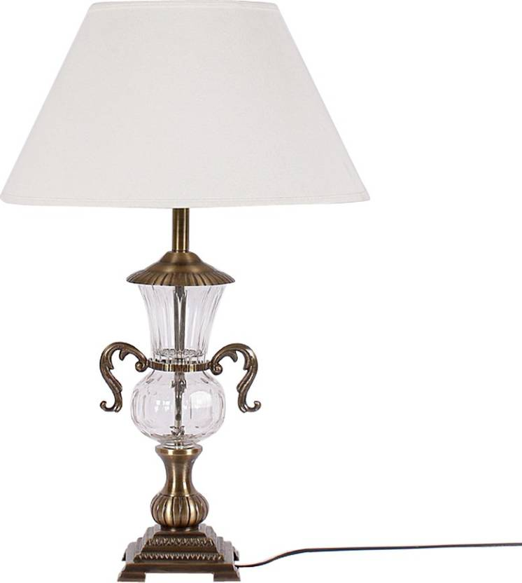 31975c59ae8f4 Kapoor E Illuminations Brass Table Lamp Table Lamp Price in India ...