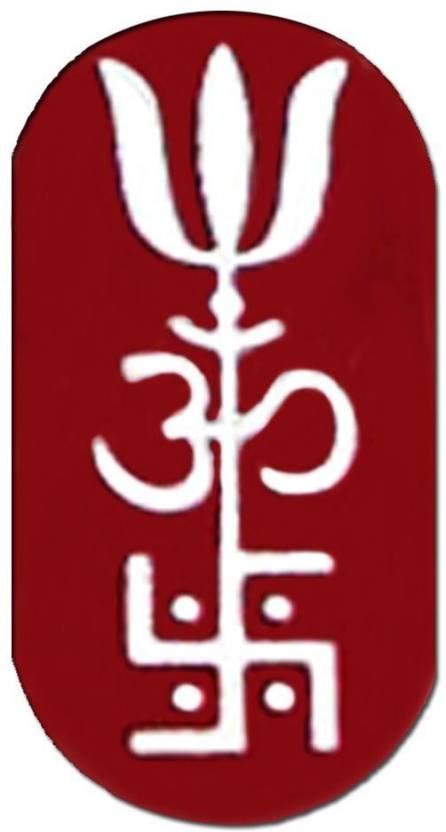 Ratnatraya Energized Om Swastik Trishul Metal Trishakti Wallet