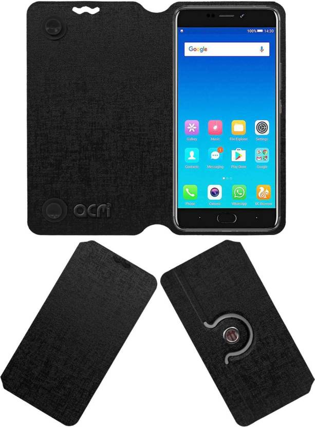 promo code 27bc2 a3ecd ACM Flip Cover for Gionee A1 Plus