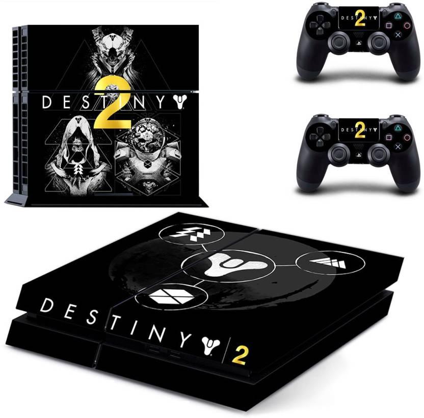 Hytech Plus Destiny 2 Theme Sticker for PS4 Console & 2