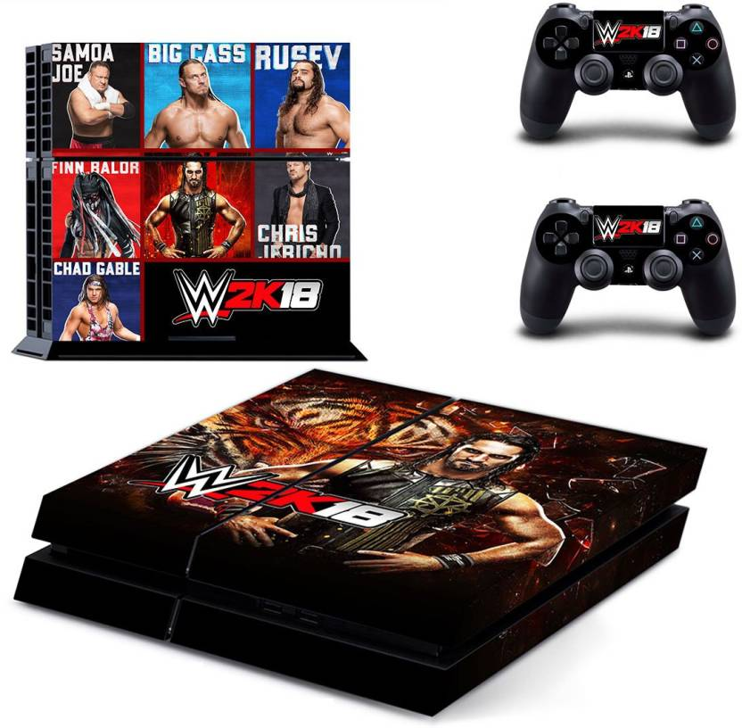Faceplates, Decals & Stickers Video Game Accessories Playstation 4 Ps4 Controller Wwe Wrestling Light Bar Decal Sticker