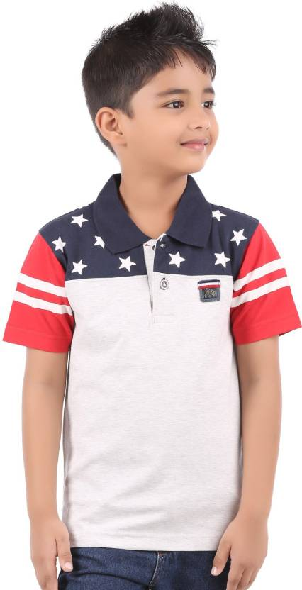 3a31c885e Body Glove Boys Printed Cotton Lycra Blend T Shirt (White, Pack of 1)