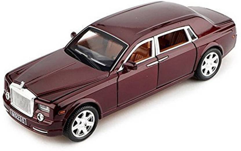 Webby 1:24 Scale D Phantom Pull Back Sedan with Blinking Lights