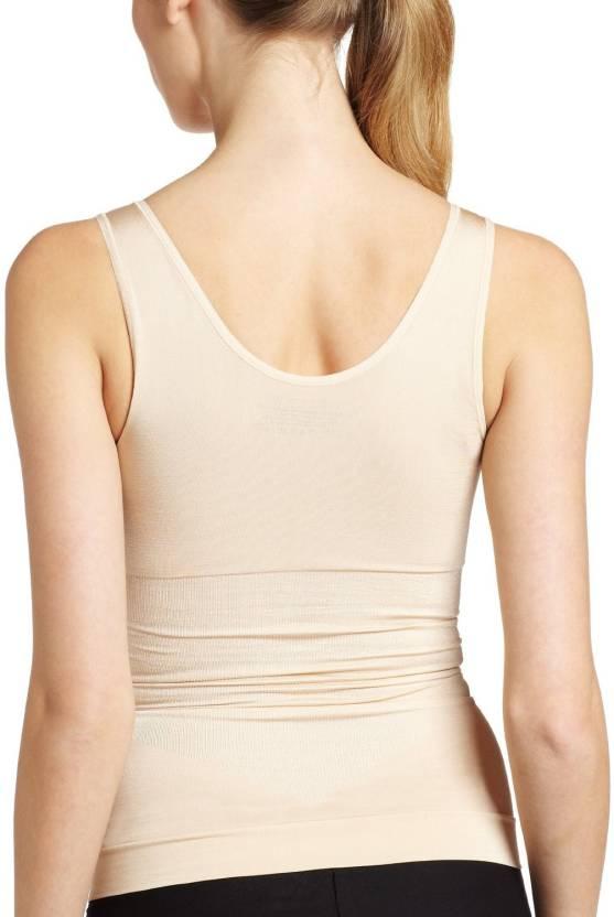 ab316dcadee4a Yoga Design Lab ™ Genie Cami Shaper Tank Top Spanx Camisole Camishaper Bra  Shapewear  Women Compression (Beige Sleeveless)