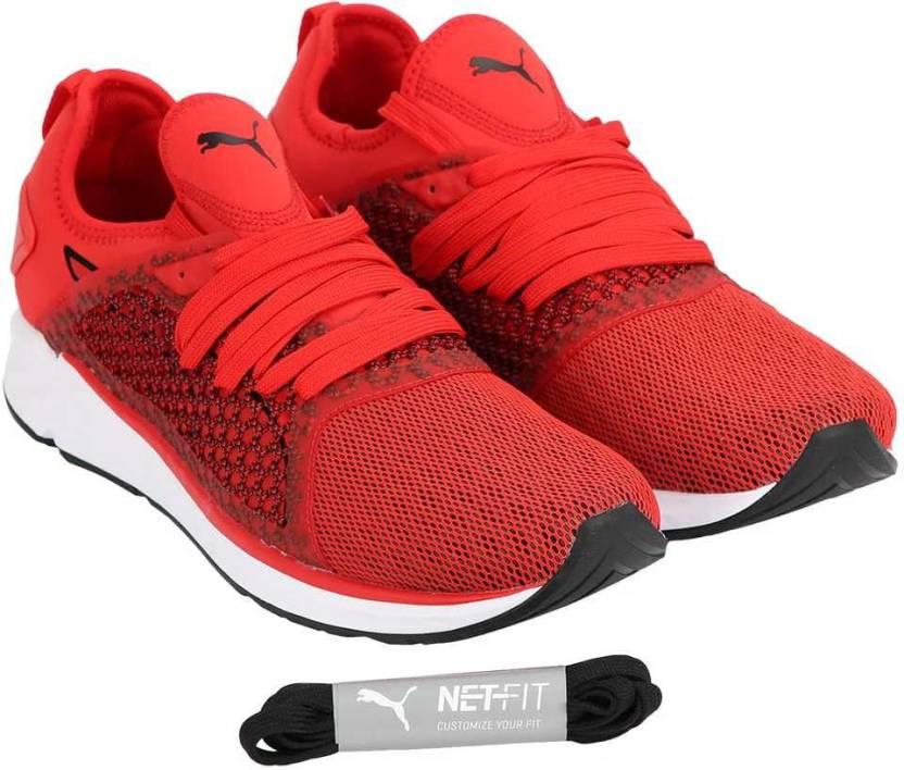 Puma IGNITE 4 NETFIT Running Shoes For Men - Buy Puma IGNITE 4 ... e83e3b54c