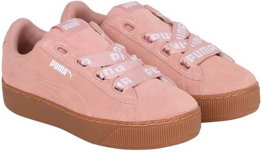 8aed84d7125c Puma Puma Vikky Platform Ribbon Bold Sneakers For Women - Buy Puma ...