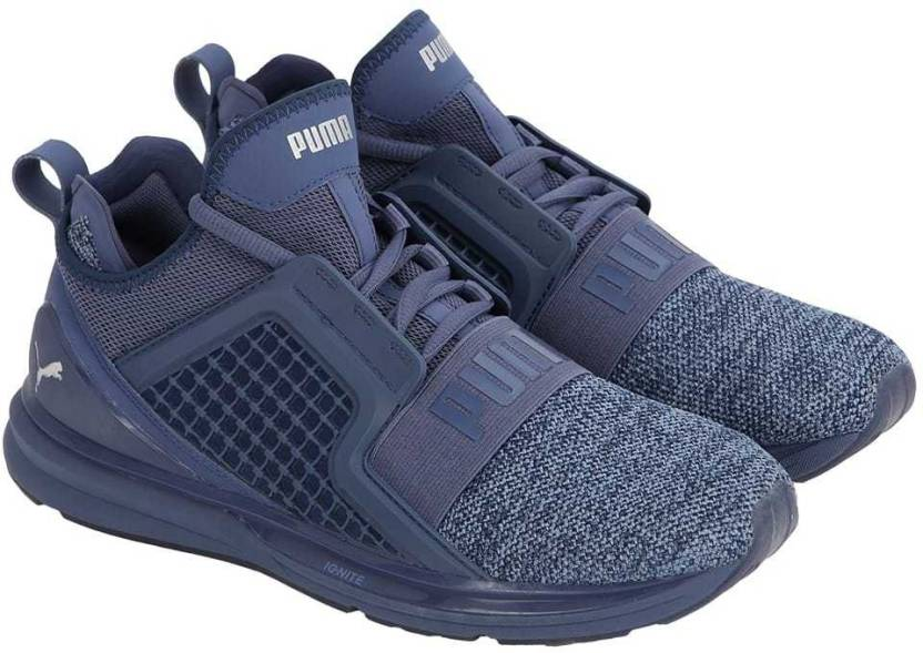 sports shoes 23d94 c89ce Puma IGNITE Limitless Knit Walking Shoes For Men - Buy Puma ...