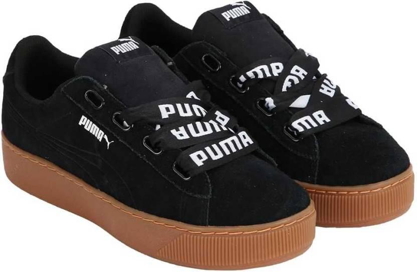57422a30f0382c Puma Puma Vikky Platform Ribbon Bold Sneakers For Women - Buy Puma ...