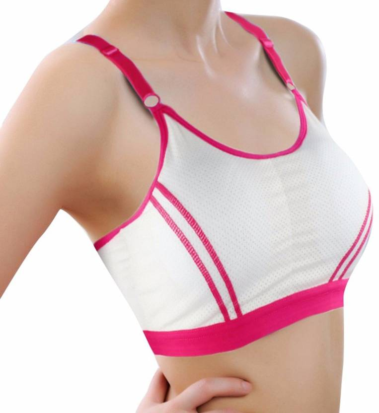 02e3a699422 Grab Offers by Sexy Bra Adjusted-straps Non-convertible Straps Seamless Breathable  Push Up