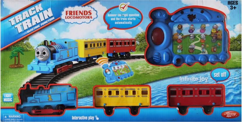 Toyswala Friends Locomotora Track Train with Light & Music - Friends
