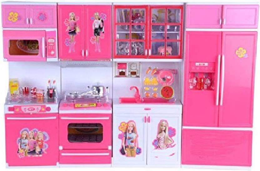 Charlies Toy Factory Barbie Modern Kitchen Set Large Barbie Modern