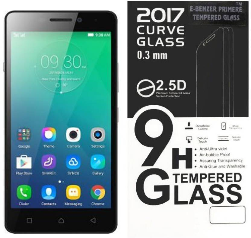 E-Benzer Tempered Glass Guard for Lenovo Vibe P1M Screen