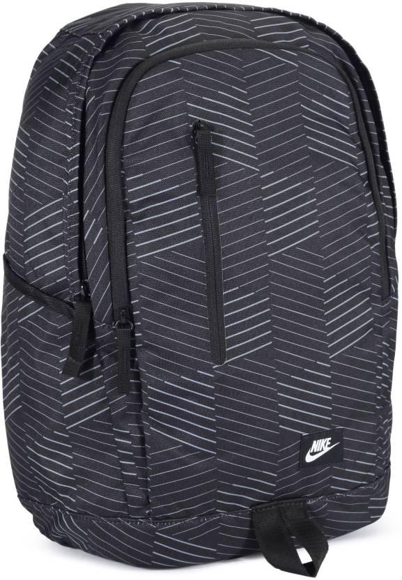 Nike NK ALL Access Soleday -D 25 L Backpack (Black 62f7da91f0557