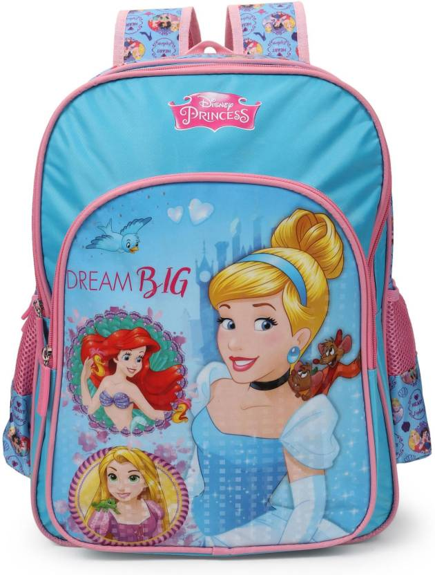 3bcb88eff10 Disney Princess Dream Big 18    School Bag (Blue