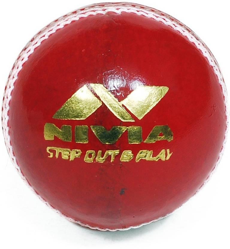 0df63a155e7 Nivia Impact Cricket Leather Ball - Buy Nivia Impact Cricket Leather ...