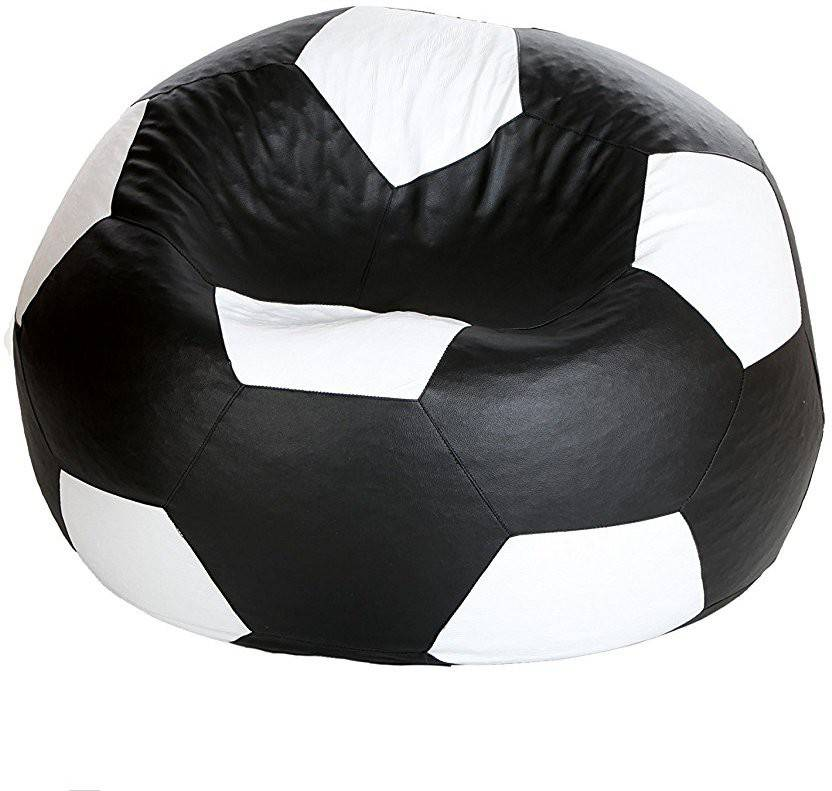 Awesome Tik Toc Xl Rexine Leather Football Sofa Chair Bean Bag With Beatyapartments Chair Design Images Beatyapartmentscom
