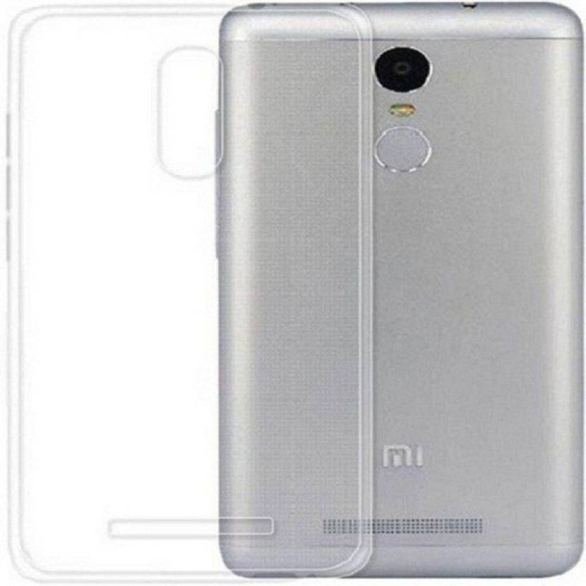Power Back Cover for Mi Redmi Note 4 Transparent