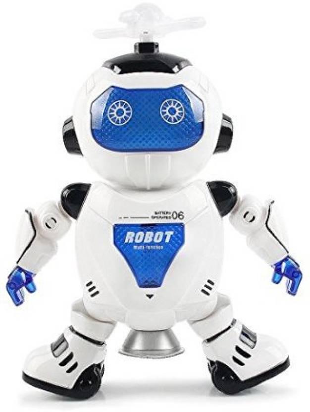 CMrtew Kids Electronic Robot Dancing Robot Smart Space Robot