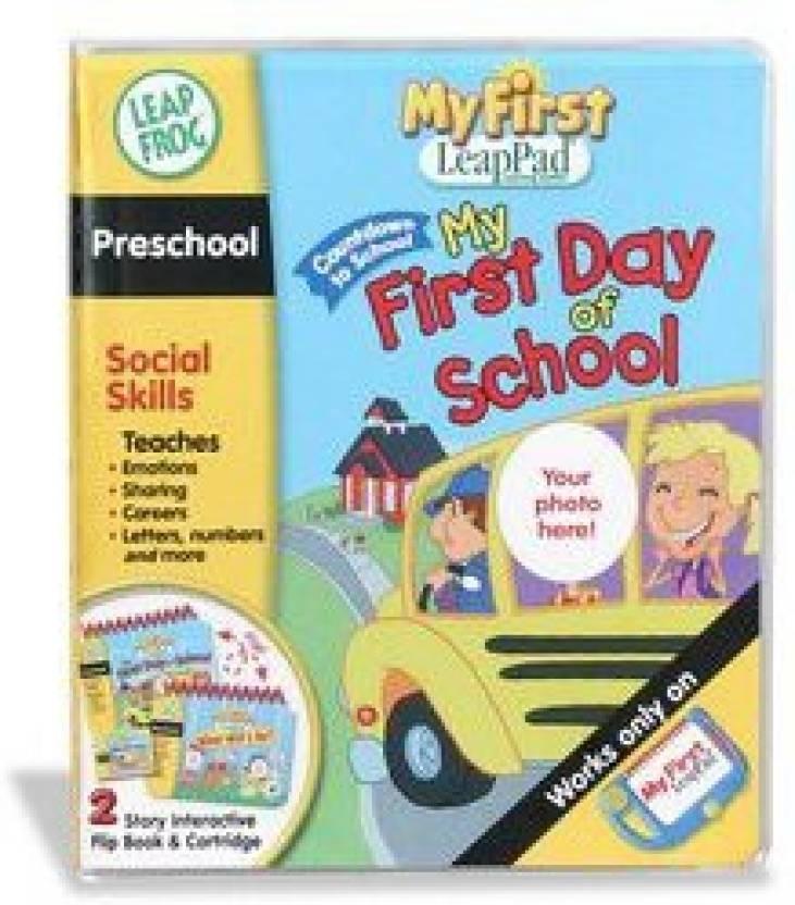 Leapfrog Toys My First Leappad Preschool Social Skills First Day