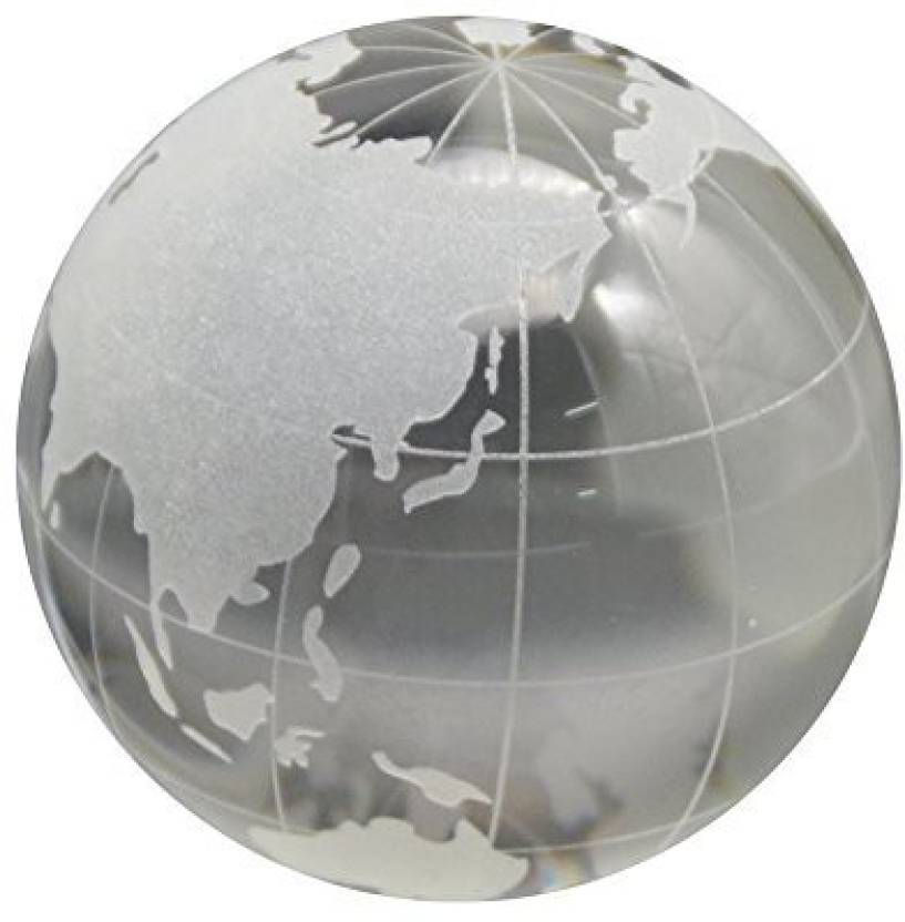 Jingdian crystal world map globe price in india buy jingdian jingdian crystal world map globe gumiabroncs Image collections