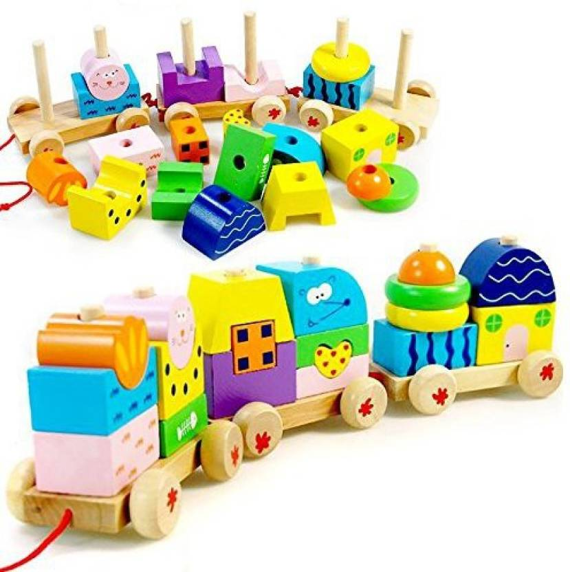 Sealive Children Favourites Educatinoal Toys Toddler Baby Kids Wooden Toy Perfect Birthday Gift Xmas For 2 Years Up Multicolor