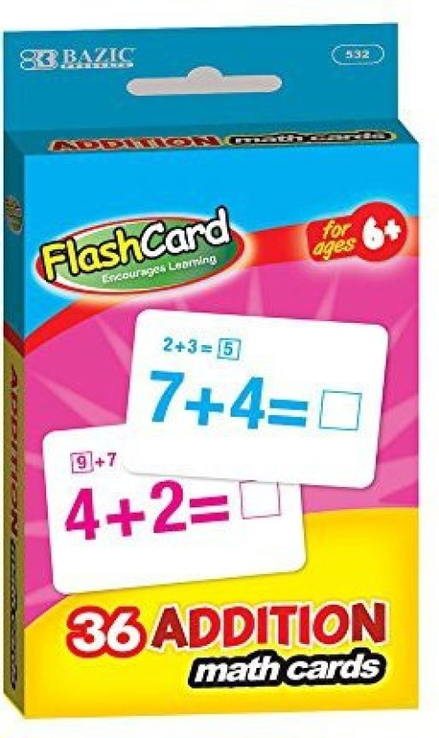 Bazic Addition Flash Cards 36Pack Case Of 24 Price in India