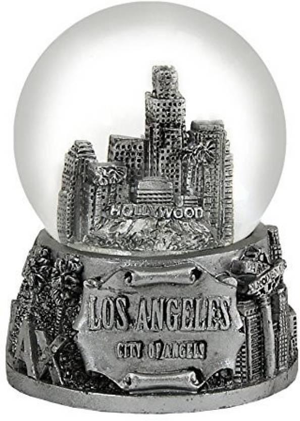 Americaware Psglac65 65 Mm Los Angeles Snow Globe