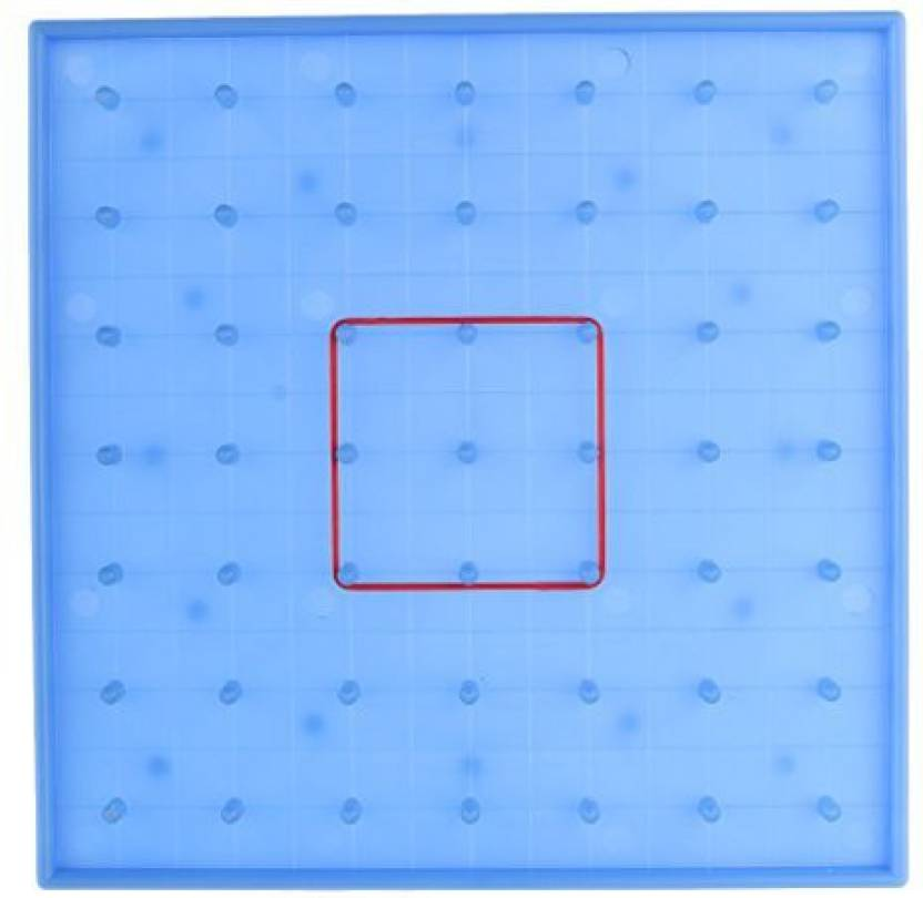 Monkeyjack 1 Piece Blue Plastic Nail Board Plate For Kids Mathematics  Learning Educational Toys 0a5d7c4d1c03