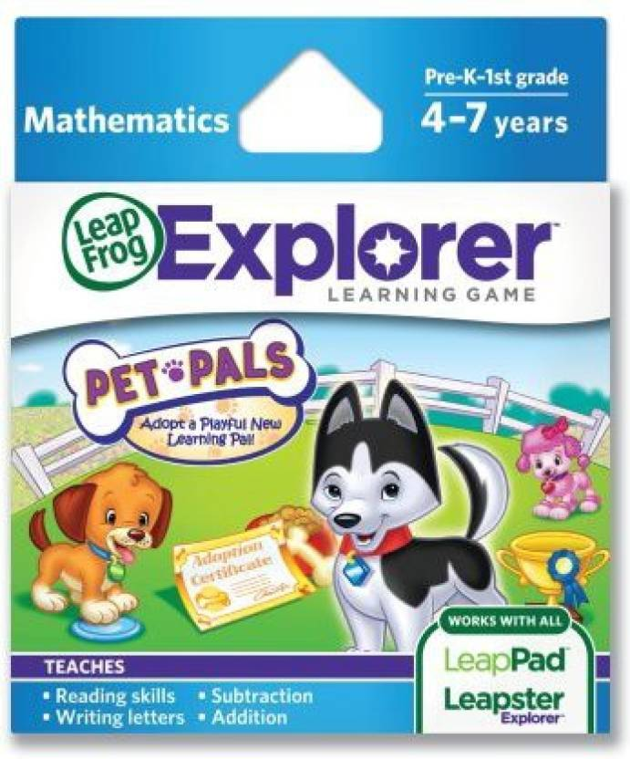 Leapfrog Explorer Pet Pals Learning Game Works With Leappad Tablets