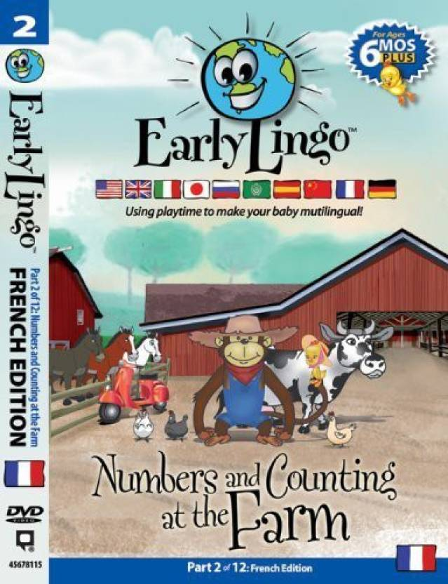 Early Lingo Numbers And Counting At The Farm Dvd (Part 2