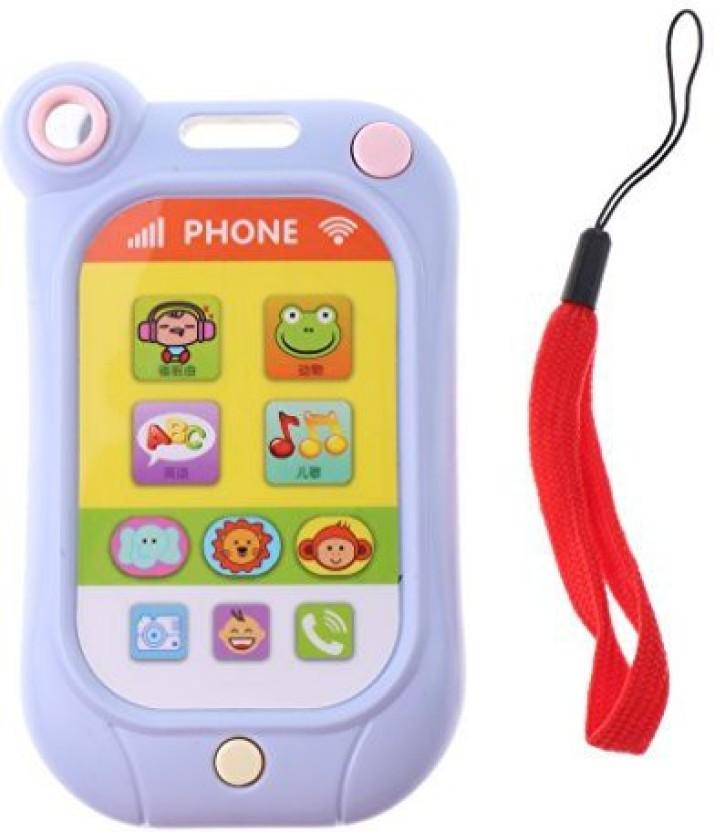 Monkeyjack Kids Electronic Toy Phone Cartoon Mobile Phone