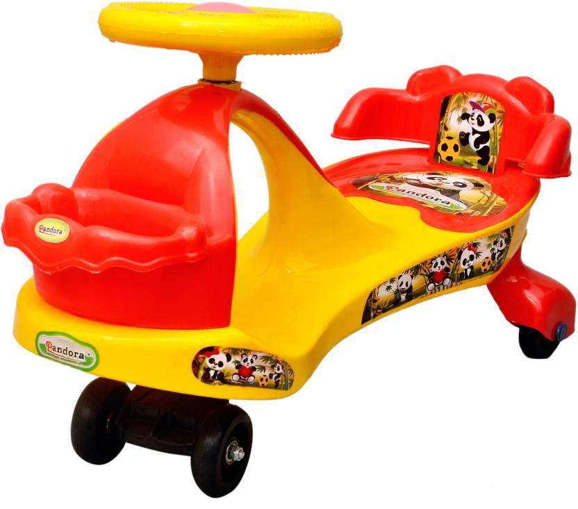 Toyshine Pandora Magic Car For Kids In Yellow Red Pandora Magic