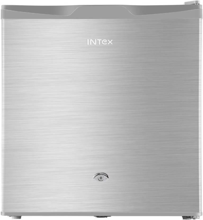 Intex 50 L Direct Cool Single Door 1 Star Refrigerator(Silver, RR061ST)