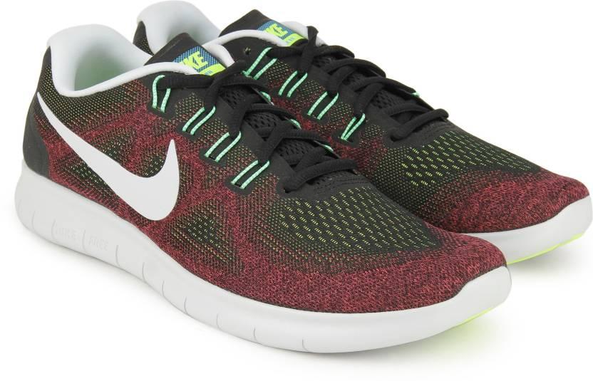 0067cfe02593 Nike FS LITE RUN 4 Running Shoes For Men - Buy BLACK BLACK-HOT PUNCH ...