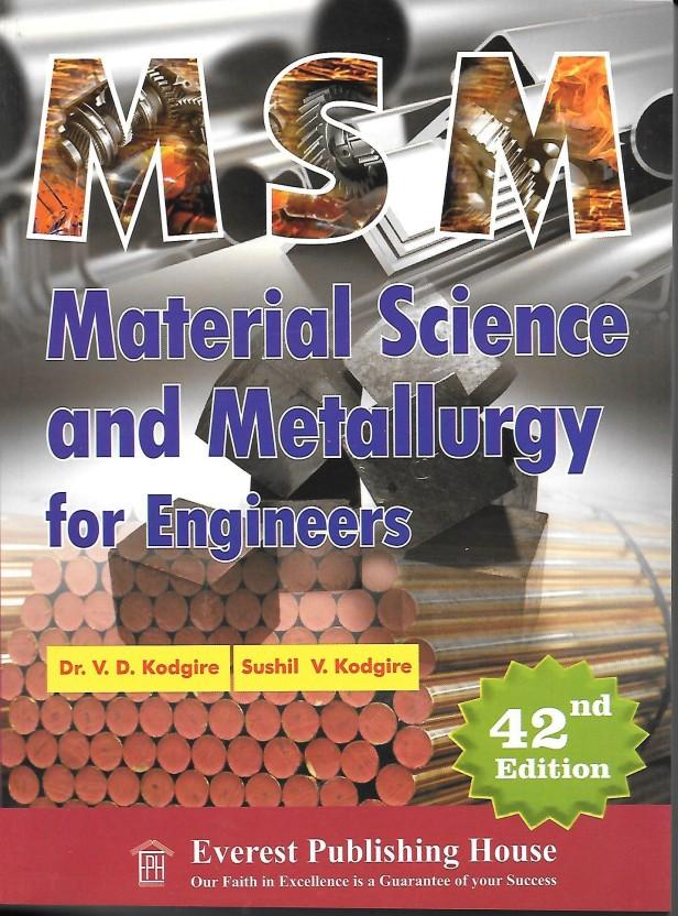Pdf metallurgy by kodgire