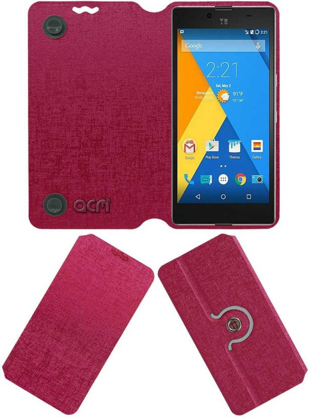 new concept 98923 19657 ACM Flip Cover for Yu Yuphoria - ACM : Flipkart.com