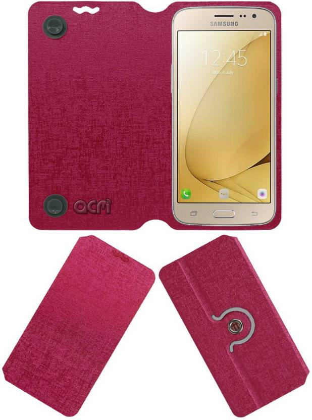 new product a82ec d795e ACM Flip Cover for Samsung Galaxy J2 6 - ACM : Flipkart.com