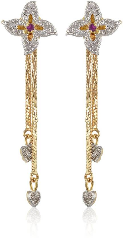 4ca969033 Flipkart.com - Buy Subharpit Sui Dhaga Ethnic Trend Metal Dangle Earring  Online at Best Prices in India