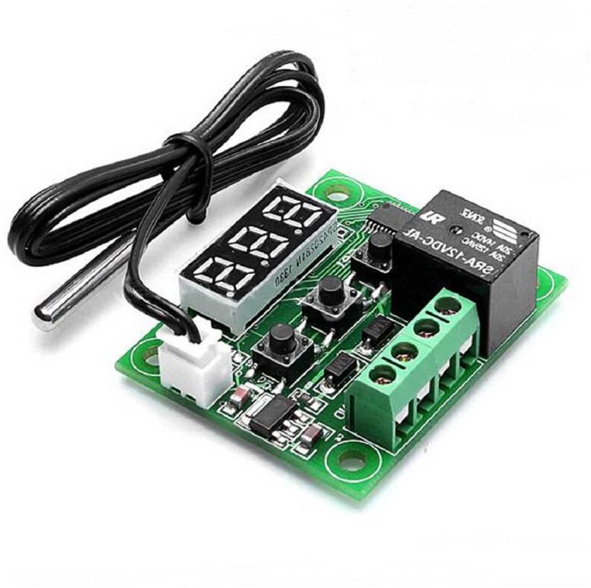 TechWiz 1 digital temperature controller thermostat temperature control  thermostat switch plate with sensor Educational Electronic Hobby Kit