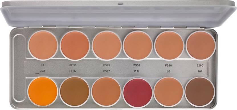 Star's Cosmetics Star's 12 Shades Foundation Pallate Foundation