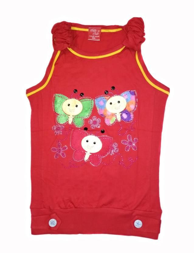 1aa0fd8eefb584 Play Club Girls Casual Cotton Tank Top Price in India - Buy Play ...