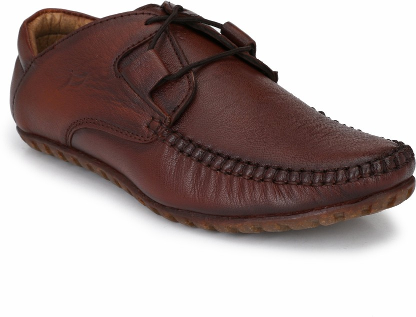 El Paso El Paso Men\u0027s Brown Casual Genuine Leather Shoes Casuals For Men