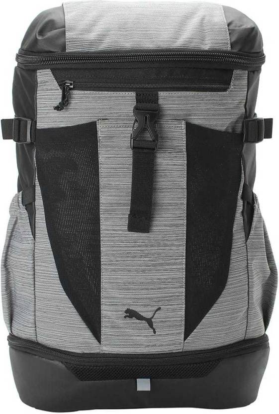 caa55ee8f27e Puma Energy Backpack 32 L Backpack Medium Gray Heather- Black ...