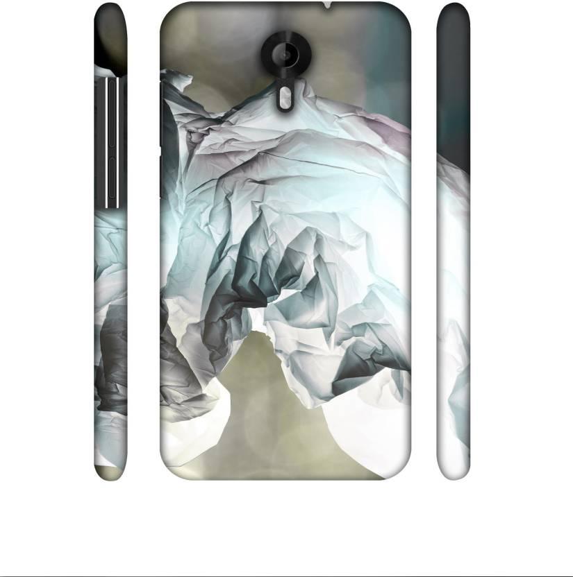 Casotec Back Cover for Micromax Canvas Nitro 4G E455 Multicolor