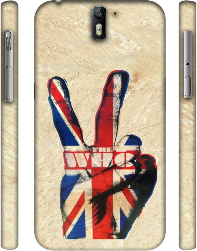 Casotec Back Cover for OnePlus One Multicolor