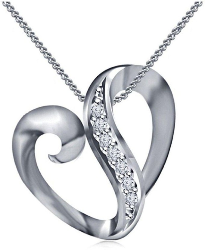 Fashion 925Sterling Solid Silver Jewelry Flower Chain Necklace For Women N832